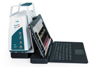 Doppler-BoxX with system mounting and tablet PC