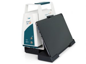 Doppler-BoxX1 with closed tablet PC