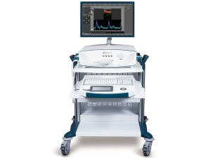Multi-Dop X with Color Doppler module – standard version with ergonomic system cart