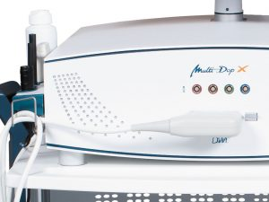 Multi-Dop X with Colour Doppler module and linear array probe